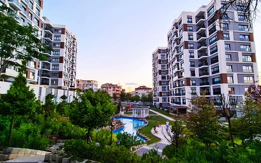 Luxury apartments Asian section Istanbul