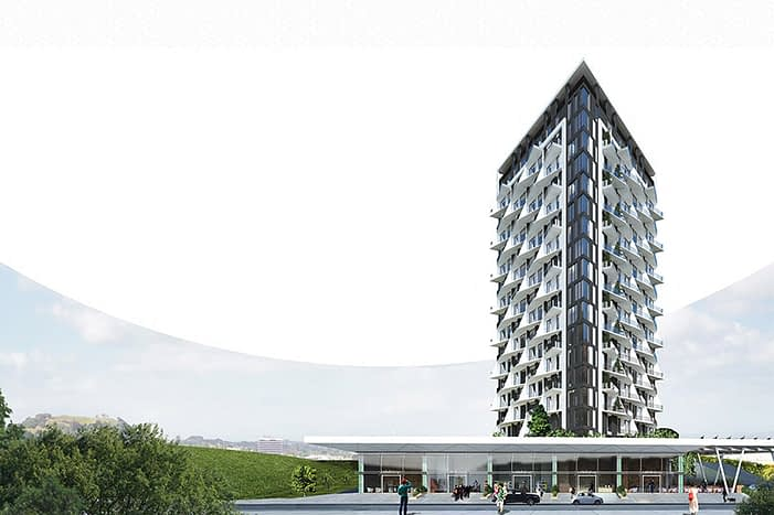 Commercial Home-Office properties Turkey - مبنى سكني تجاري تركيا