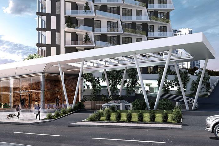 Commercial Home-Office Real Estate Turkey - مبنى سكني تجاري تركيا
