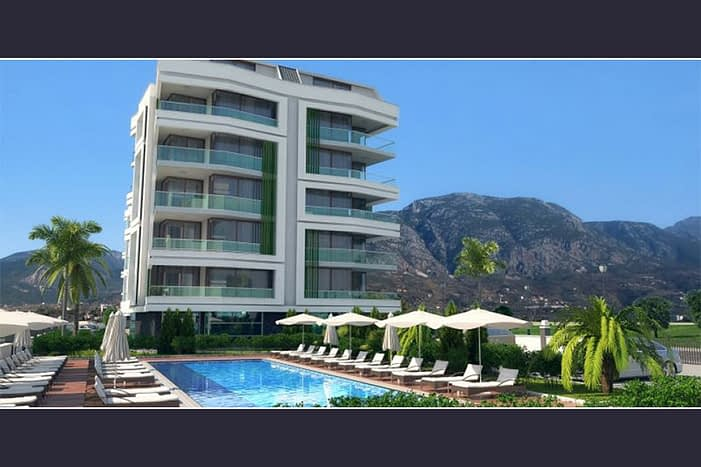 Apartment For Sale in Alanya