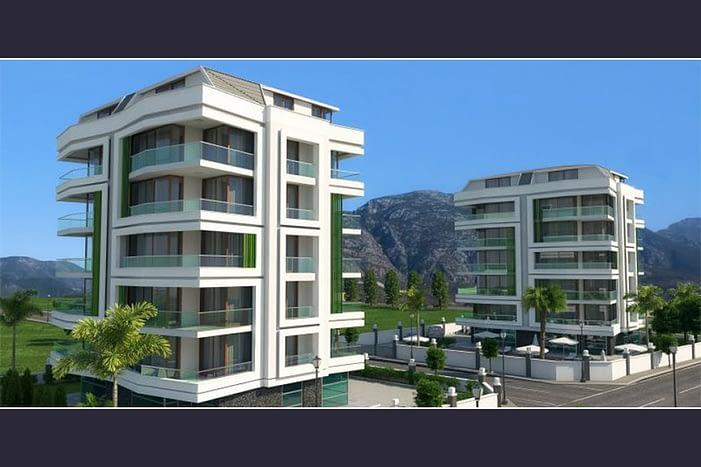 Flats for sale in Alanya - عقارات للبيع الانيا