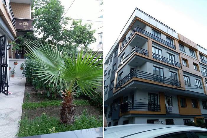 garden floor house for sale in Istanbul - منزل للبيع افجلار اسطنبول تركيا