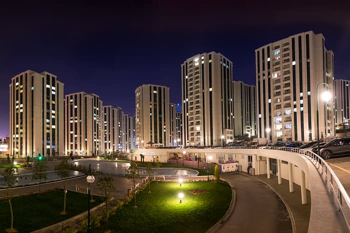 Real estate properties complex for sale in Turkey Istanbul - شقق للبيع تركيا اسطنبول