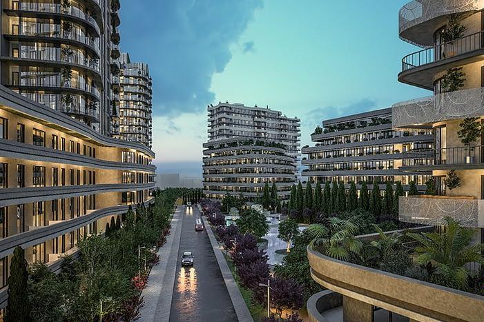 For Sale Houses in compound Istanbul - للبيع شقق تقسيط اسطنبول تركيا