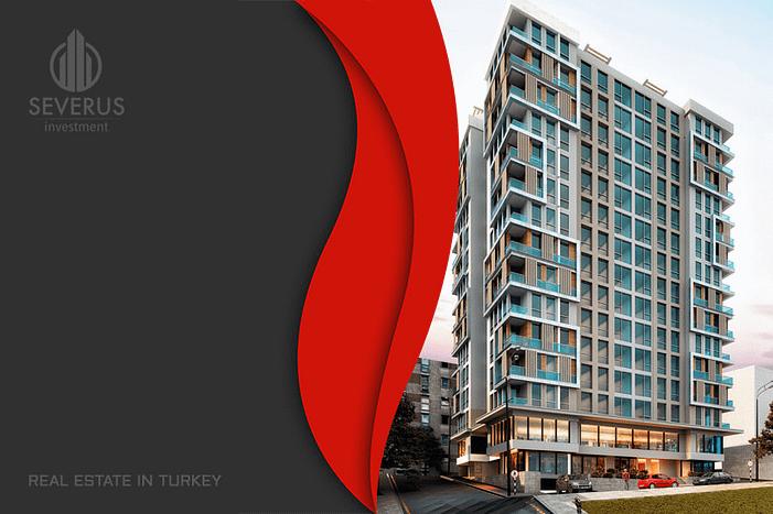 Apartments for sale prestigious area Istanbul