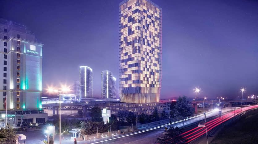 Hotel and residence block for sale or investment in Istanbul