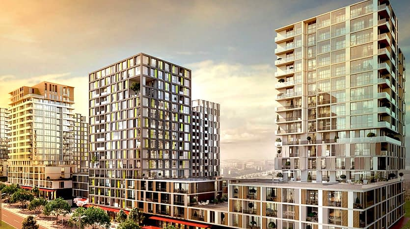 Modern Apartments For Sale in Istanbul
