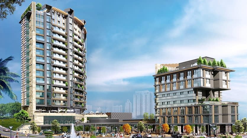 Apartments for sale sea view istanbul