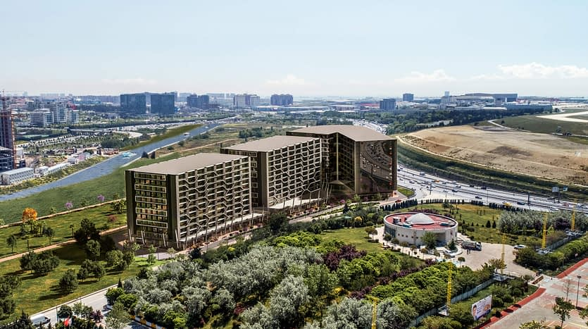 A project in a luxury area in Istanbul