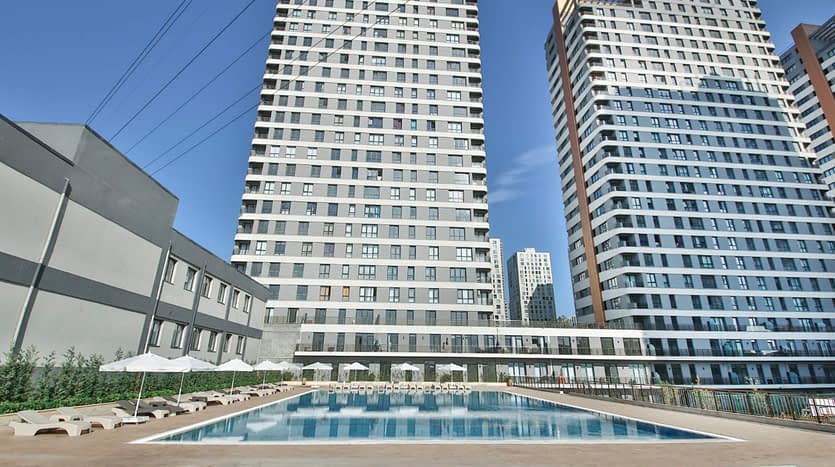residential complex in a vital area of Istanbul